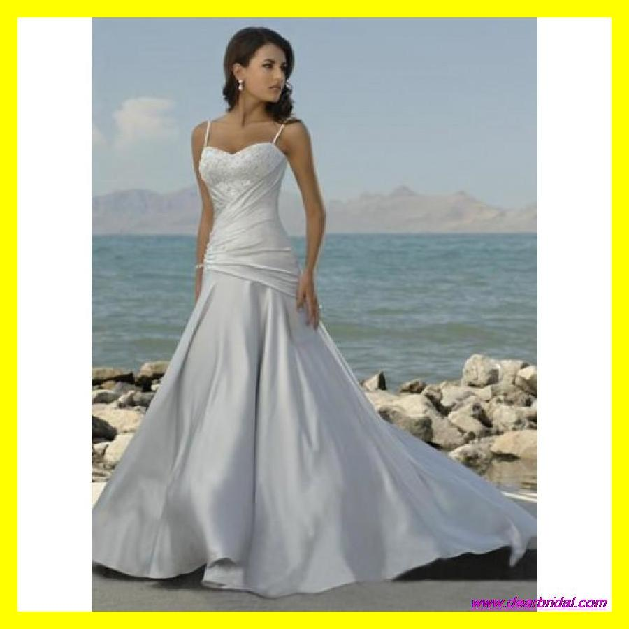 Simple white wedding dresses casual beach dress cap sleeve for Simple casual wedding dresses