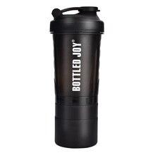 Бутылочный шейкер для протеина JOY, нетоксичный, с широким горлышком,, герметичные бутылки для воды, 27 унций, 800 мл