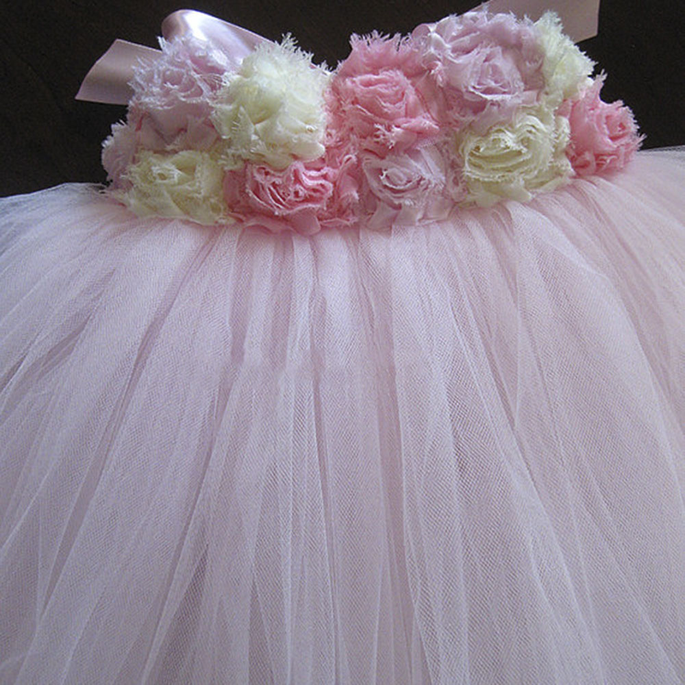 db24c7ab6 Flower Girl Dress Pink Ivory Grey Baby Girls Dress Toddler Tutu Dress  Birthday, Bridesmaid Wedding Portrait Baby Girl Clothes-in Dresses from  Mother & Kids ...