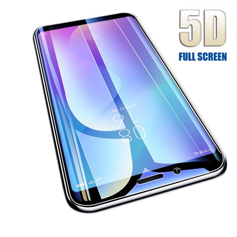5D закаленное стекло для Xiaomi 6 8 Pro 9 SE Pocophone F1 mi 8 lite 5X A1 6X A2 lite смартфон полное покрытие Защитная пленка для экрана