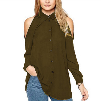 4xl 5xl spring summer women chiffon blouse plus size long sleeve off shoulder top elegant korean style womens tops and blouses