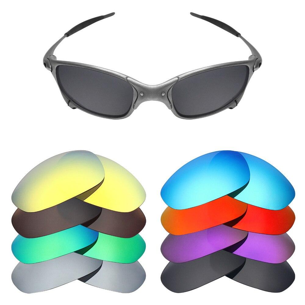 60b78b24d Mryok Polarizada Lentes de Reposição para Lentes De Óculos De Sol Oakley  Juliet X Metal-Metal (Lente Única)