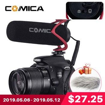 Comica V30 Lite Video-opname Mic Op Camera/Telefoon Microfoon voor Canon Nikon Sony DSLR DV Camcorder iPhone 7 8 X Samsung 8 9