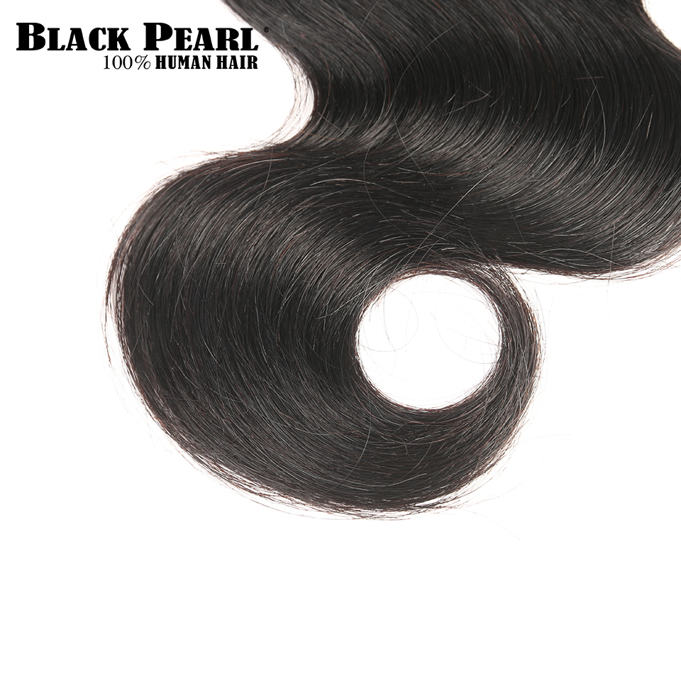 Black Pearl Pre-Colored Human Hair Bundles Remy Hair Extension 1 /3 Bundle Body Wave Hair Weaving 100g