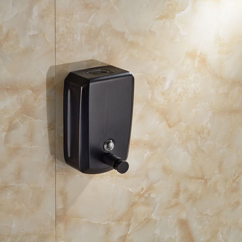Attractive Oil Rubbed Bronze 800ml Wall Mount Bathroom Soap Dispenser(China (Mainland))