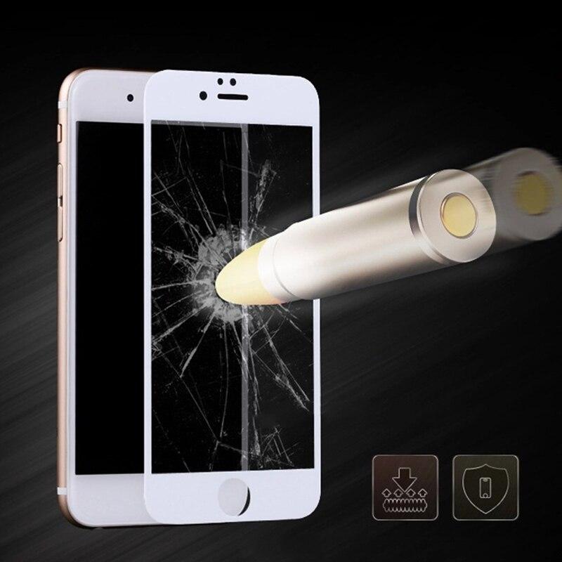 2 STK Helskärmskydd för iPhone 6 6s 6 plus härdat glas 9H 0.26mm - Reservdelar och tillbehör för mobiltelefoner - Foto 2