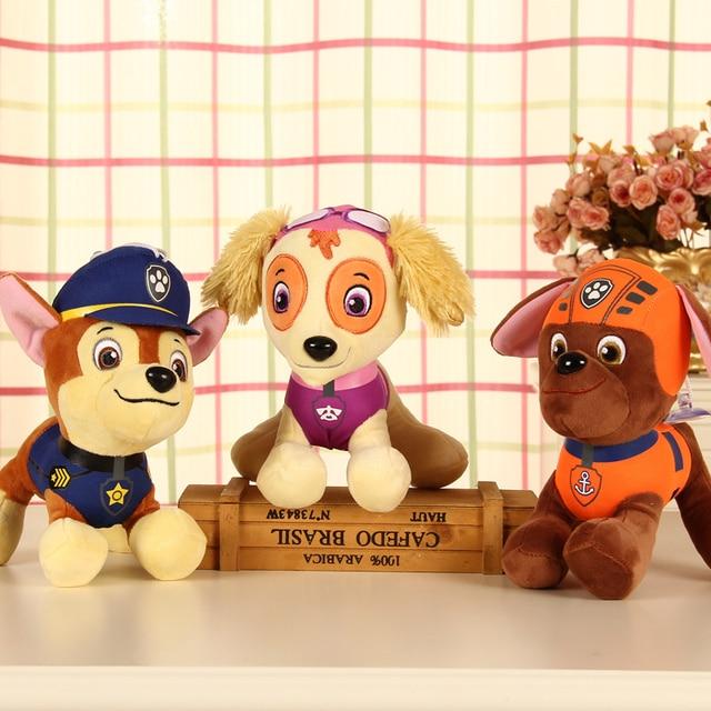 20-30cm Patrulla Canina toys PP Cotton Soft Dog Original Puppy Patrol Canine Plush Dolls Juguetes Russia Canine Patrol