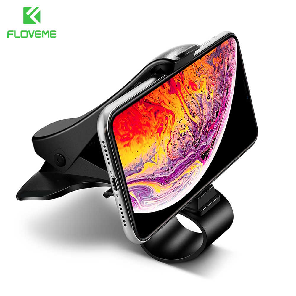 FLOVEME Car Mobile Phone Holder Stand Stable Grip Dashboard Mount Holders for Phone in Car telefon tutucu soporte movil Support