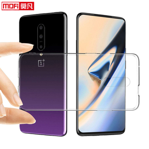 Image 5 - Coque pour oneplus 7 pro OnePlus 7 coque transparente transparente en silicone souple en ptu ultra mince fond mofi coque arrière one plus 7 pro