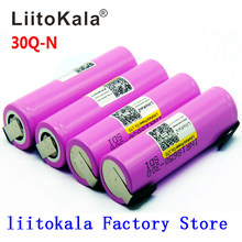 Litokala Original 18650 batterie INR18650 30Q 20A 3000mah décharge Li-ion Rechargeable 18650 batterie(China)