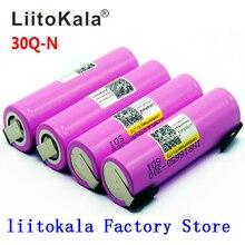 Litokala orijinal 18650 pil INR18650 30Q 20A 3000mah deşarj Li ion şarj edilebilir 18650 pil