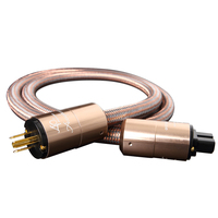 Accuphase Power Cable 5N OFC Power Cord with European Standard Plug For Amplifier CD player DAC