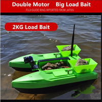 Three Cabin Bait Boat Wireless remote control 500M 2kg load bearing profession for fishing