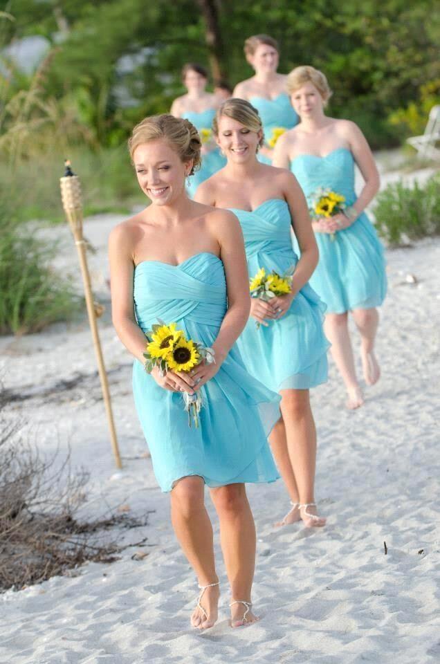 Online Get Cheap Light Blue Bridesmaids Dresses -Aliexpress.com ...