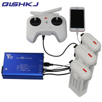 5 IN 1 Xiao Mi Drone RC Quadcopter 4k Camera Drone Parts Battery & Remote Control Charger Hub for Xiaomi Drone Accessories