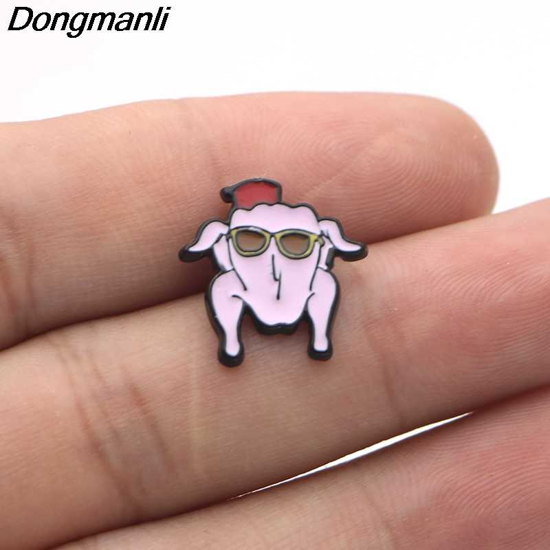 P1229 Dongmanli TV Series Friends Crayfish Pin Pins Brooches Badges For  Clothing Enamel Pin Badges Gifts For Women