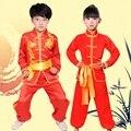 Xinjiang dança folclórica trajes crianças trajes de dança folclórica chinesa tradicional meninas criança roupas de kung fu