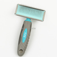 Free Shipping Slicker Dog Brush Massage Pet Body Dog Hair Grooming Products Comb Easily