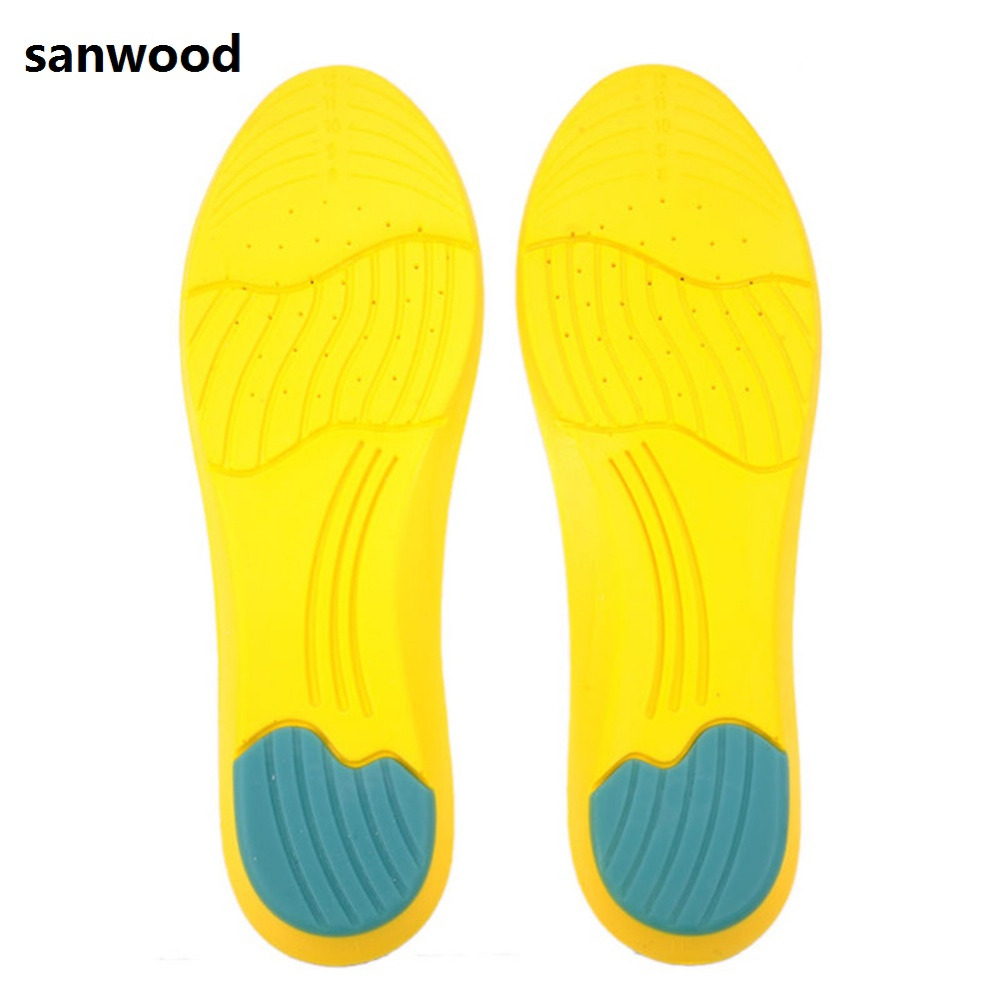 High Memory Foam Orthotic Arch Insoles Shoe Pads Foot Heel Cushion Pain Relief 1 pair super memory foam orthotic arch insert insoles cushion sport support shoe pads