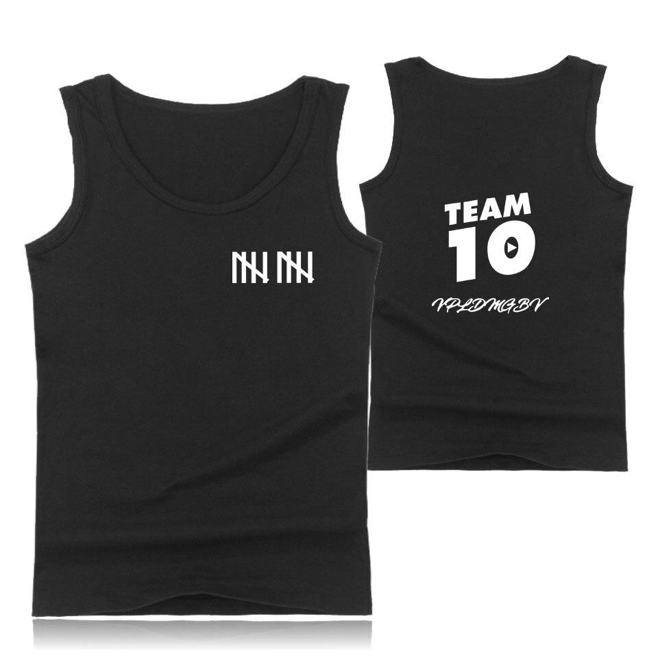 Jake Paul team 10 T-Shirts New Fashion Summer Mens Round Neck Tees Shirts Hot sale Hip Hop Unisex Tshirt Jake Paul team 10