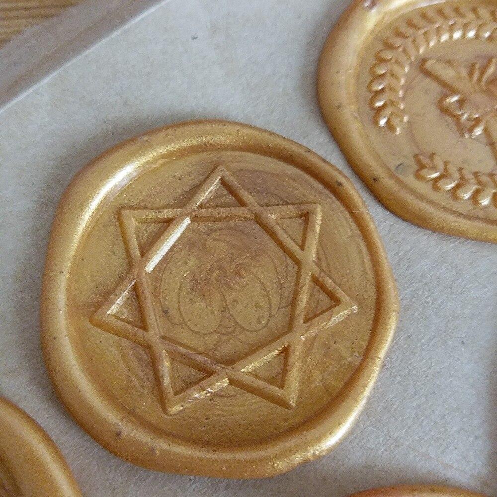 Star wax seal stamp,Envelope seal DIY sealing wax stamp vintage custom design stamps box set wood metal handle deco KIT kitlee40100quar4210 value kit survivor tyvek expansion mailer quar4210 and lee ultimate stamp dispenser lee40100