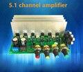 TDA2030A HIFI 5.1 (6) канальный усилитель доска двойной DC 12 В в цифровой аудио усилитель пк главная усилители