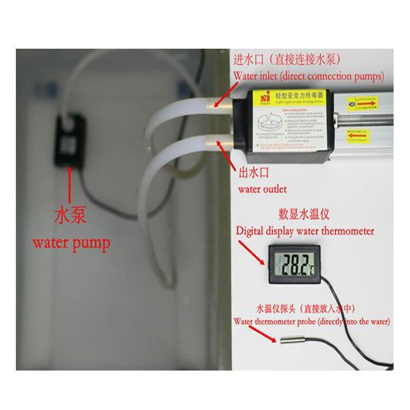 1set 23 '' (60cm) akril melegen hajlító gép Plexi üveg PVC - Szerszámgépek és tartozékok - Fénykép 5