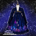 Stary Rain Beautiful Made Chinese Style Hanfu Dress RuQun Cute Lolita Hydrangea Flower Fancy Gorgerous Dress