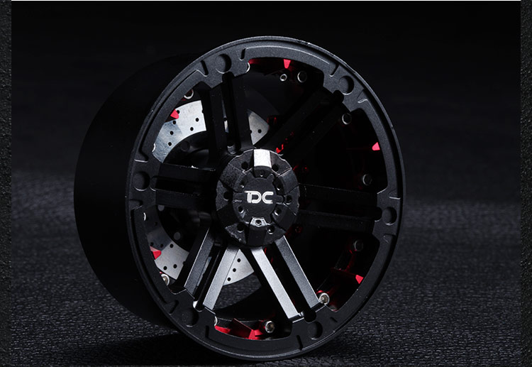Free Shipping 2pcs 2.2 inch 2.2 Universal 1/10 RC Crawler car tire wheel hubs wheels free shipping 2pcs 1 9 roost version 1 10 scale rc crawler car wheels metal beadlock wheel hubs diameter 53mm