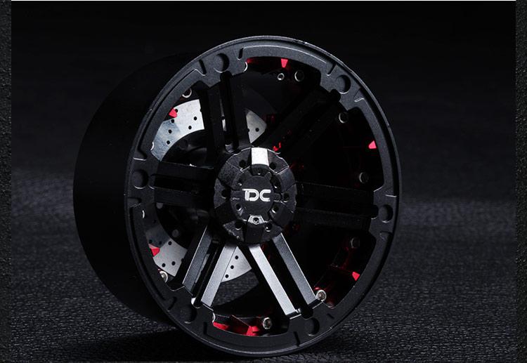 Free Shipping 2pcs 2.2 inch 2.2 Universal 1/10 RC Crawler car tire wheel hubs wheels free shipping 1 10 scale rc drift car wheel hub ce28n metal wheel hubs offset 6 upgrade spare part for 1 10 rc drift car