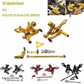 МТ-09 ФЗ 09 MT 09 TRACER Регулируемая Подставка Для Ног Peg задний Набор Для Yamaha MT-09 FZ-09 MT FZ 09 tracer, XSR900 2016