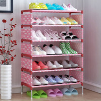 Deals on COSTWAY Non-woven 5 Tier Shoes Rack Shoe Cabinets Stand