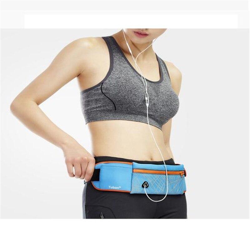 snowshine3 YLS Weatherproof Reflective Sport Waist Bag for Cell Phone Dual Pocket Running Bag