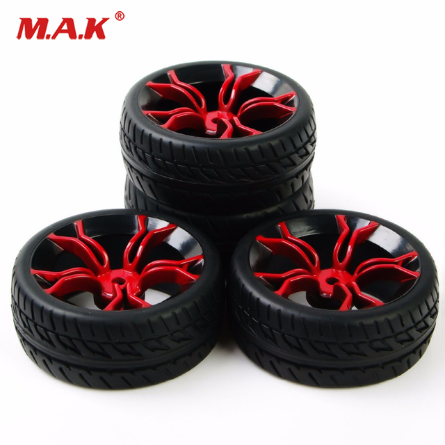 Sale 4pcs Hpi Racing Rc 1 10 Flat Rally On Road Car Tire Wheel Rims