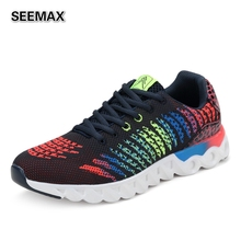 2016 Super Light Running Shoes For Men Women Trainer Sport Run Shoes Man Female Sneaker Cotton Network Flats Breathable Shoes