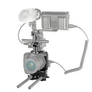 Image 5 - SmallRig GH5 Halb Käfig Kit für Panasonic Lumix GH5 mit Batterie Griff/Top Handgriff/Dual Rod Clamp Grundplatte system 2067