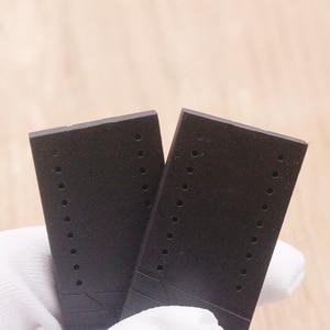 Image 4 - Watch Accessories Soft Silicone Strap For Porsche P6750 Mens Watch Strap