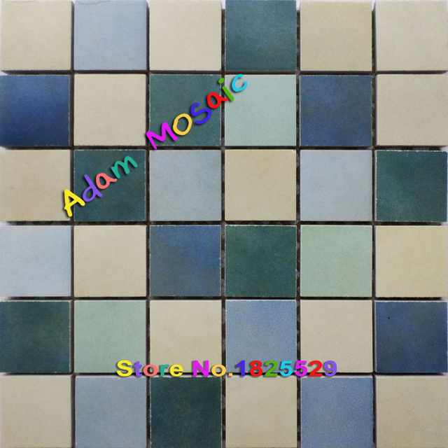 Colored Porcelain Wall Tiles Kitchen Backsplash Multi Color Ceramic