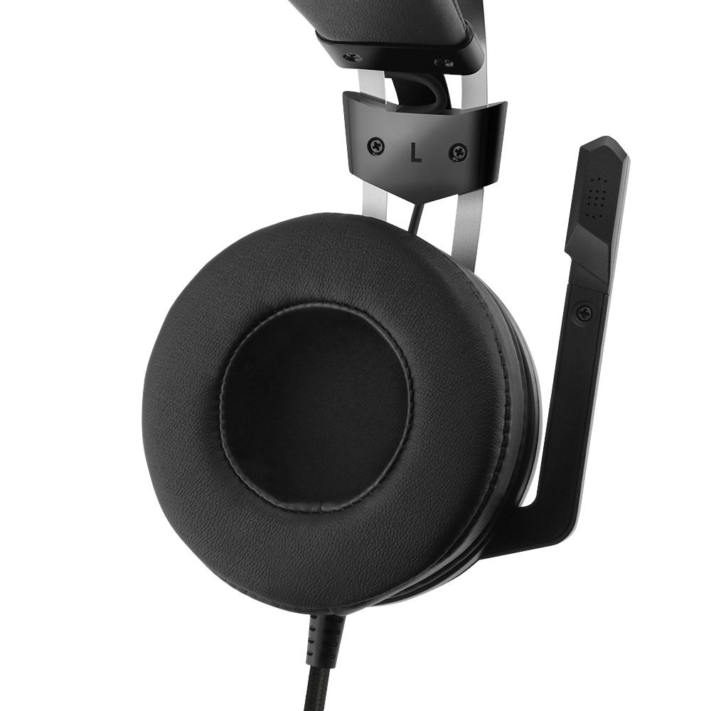 Redragon 7.1 canal virtuel USB Surround son casque de jeu casque filaire gamer respiration rétro-éclairage écouteur Microphone - 3