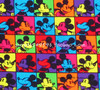 140cm Width Colorful Mickey Mouse Cotton Fabric Baby Boy Clothes Sewing Bedding Set Bags Hometextile Patchwork