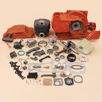 Crankcase Crankshaft Bearing Cylinder Starter Engine Motor Rebuild Kit Fit Husqvarna 362 365 371 372 (50mm) Chainsaw Spare Parts