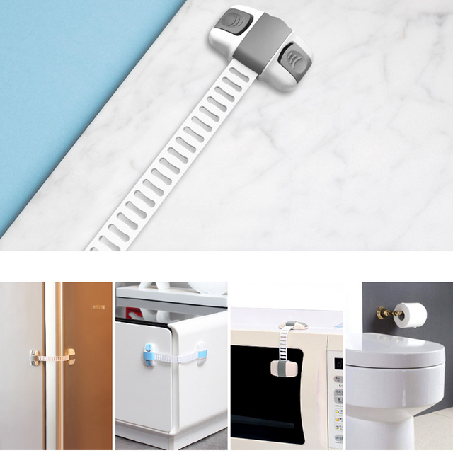 EUDEMON Cabinet Lock Child Safety Baby Protection From Children Safe Locks Baby Security Drawer Latches for Refrigerators