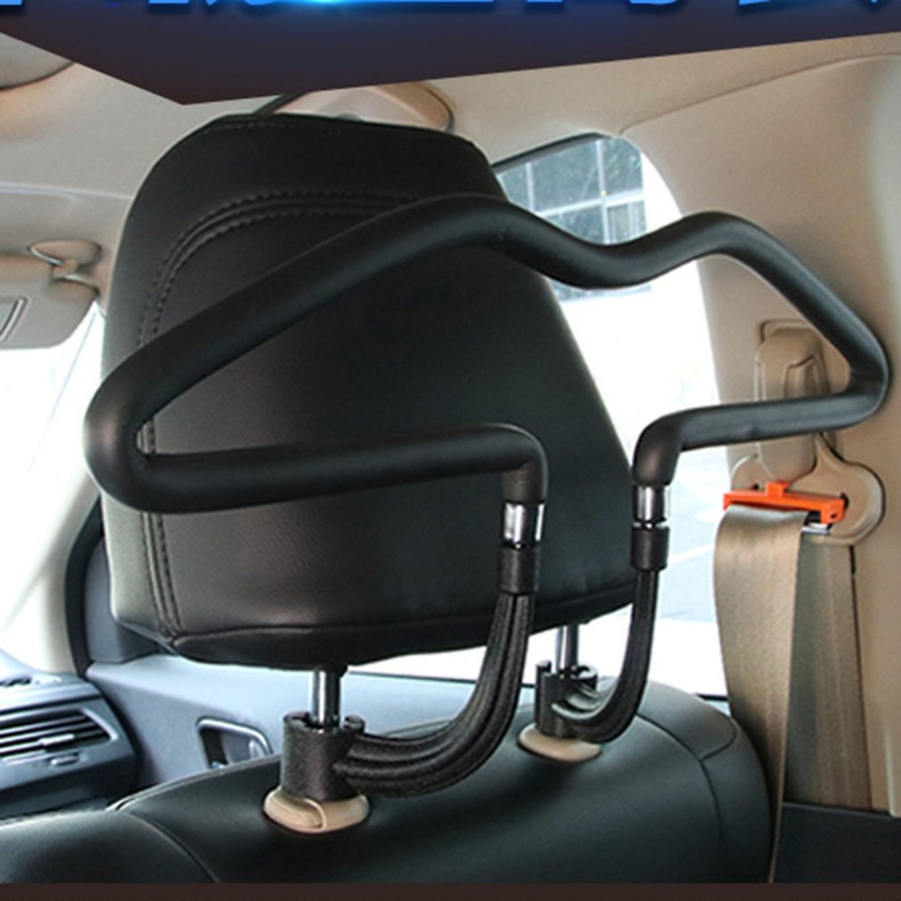 Universal Car Seat Back Hooks Hangers Organizer Universal Headrest Mount Storage Hooks House Storage Simple Styling