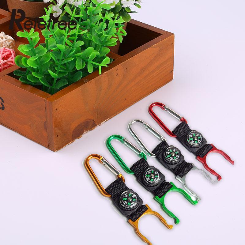 Relefree Buckle compass color Random outdoors Carabiner bottle Mountaineering tools practical high quality indispensable