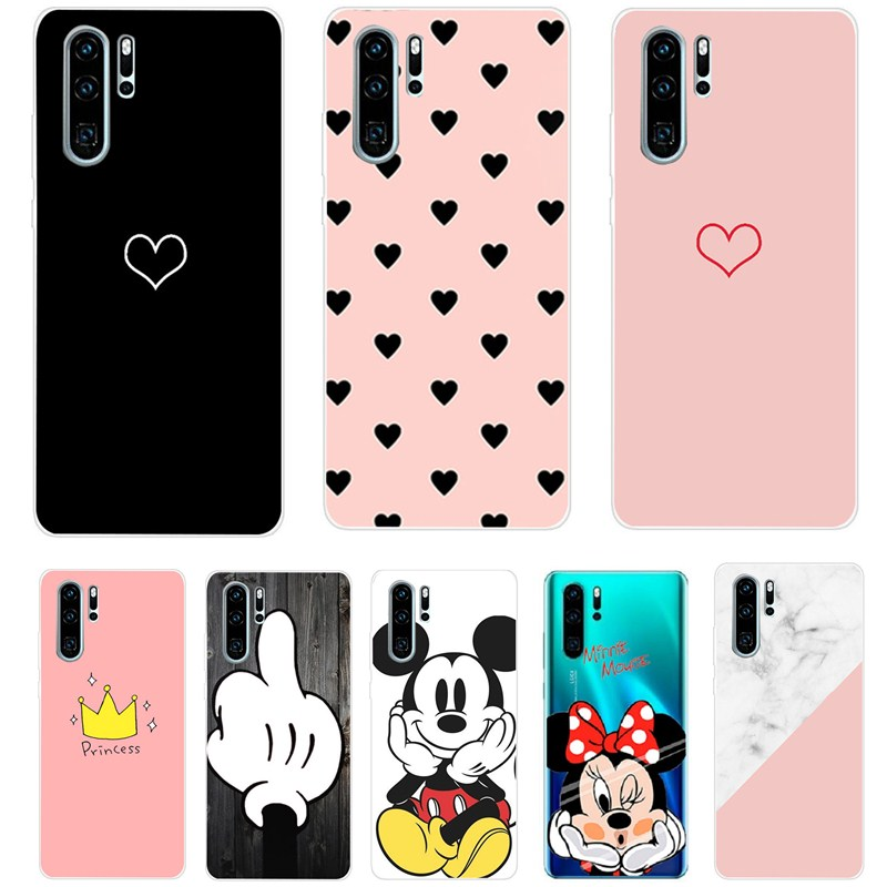 For Huawei P30 Pro VOG-L29 ELE-L29 CaseS Silicone TPU Phone Back Cover On For Huawei P20 Pro 360 Full Protective Bumper