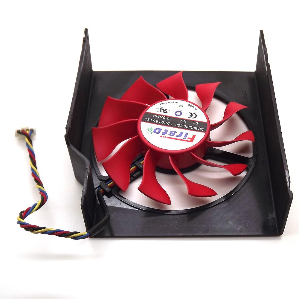 Envío Gratis FD8015U12S 75mm 12V 0.5A 4 Ventilador Enfriador de - Componentes informáticos - foto 4
