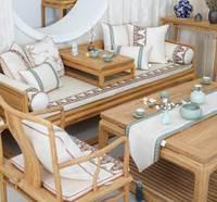 Традиционный китайский вышитые подушки/almofadas случае 45 50, спинка сиденья чехлы, мода восточные Декоративные Бросьте наволочку