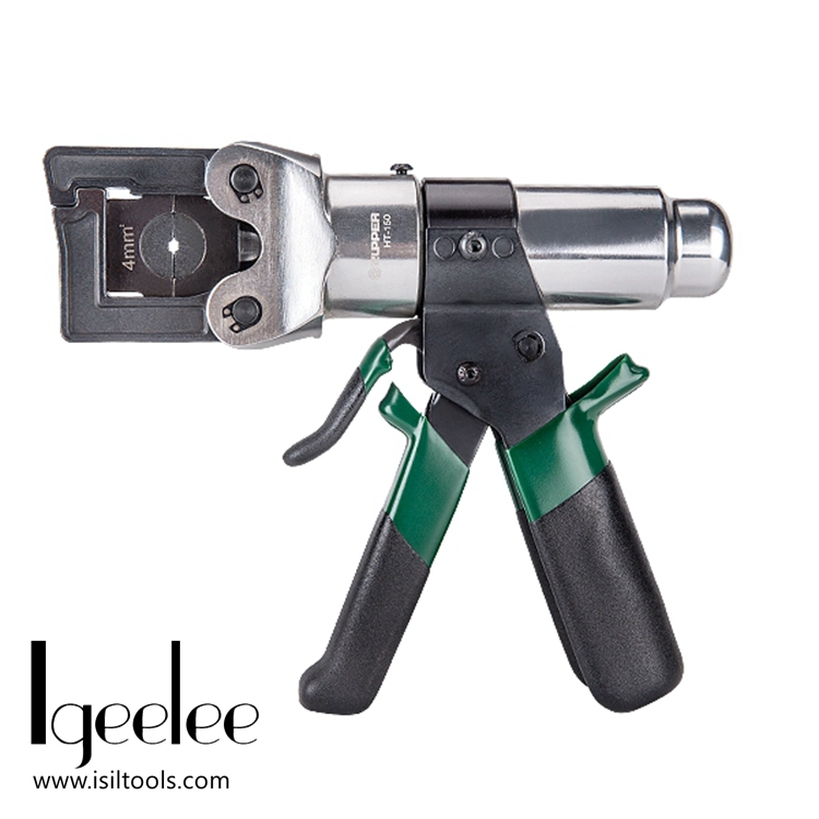 iGeelee HT 150 Mini Hydraulic Crimping Plier safety system inside for Crimping 4 150mm2 conductor