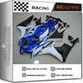 Fairing Kit Bodywork For Honda CBR600RR F5 2007 2008 BLUE WHITE MATTE BLACK COLOR