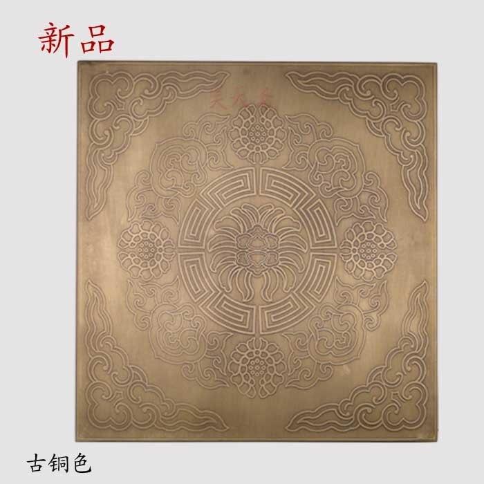 купить [Haotian vegetarian] five bread corner decoration gusset copper Horn corners HTG-099 дешево